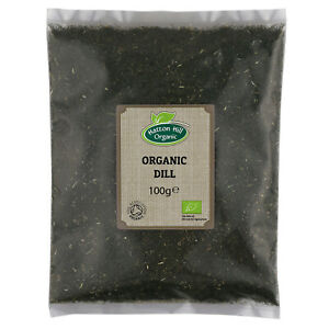 Organic Dried Dill Tops Weed 100g Certified Organic