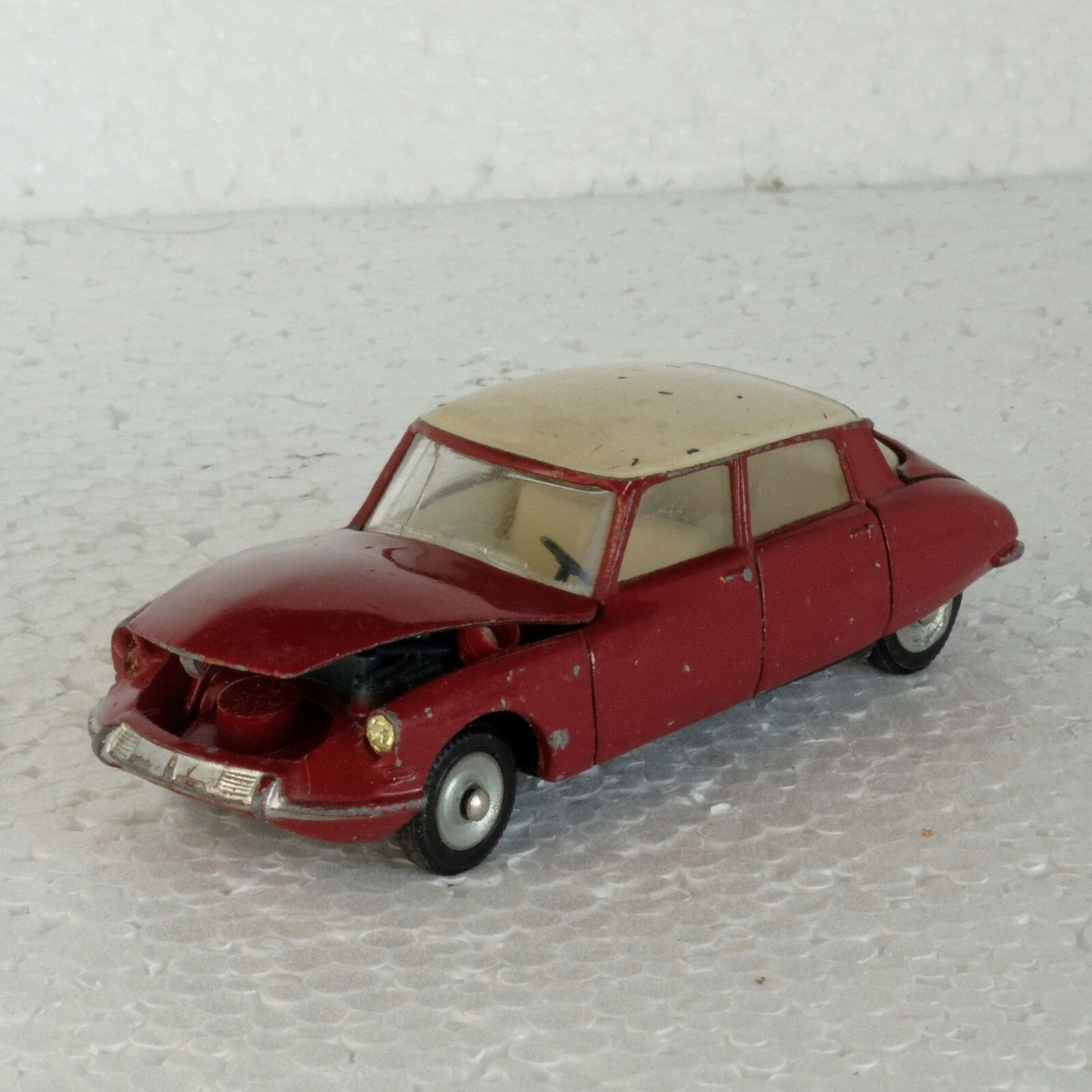 salida para la venta 093 DINKY TOYS ORIGINAL - Citroën DS 19 (modèle (modèle (modèle 1963) - grenat crème -sans boîte  el más barato