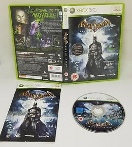 Xbox-360-Batman-Arkham-Asylum-Video-Game-VGC-schnelle-versandkostenfrei