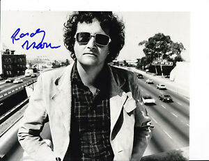 Randy Newman Signed Standing Over Highway 8x10 Toy Story You Got A