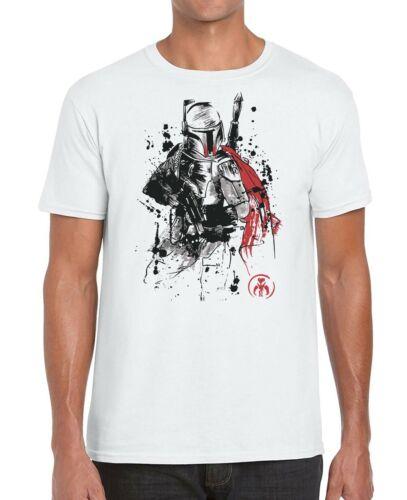 The Mandalorian Sumi-E Star Wars Men/'s T-Shirt