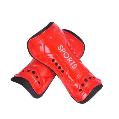 1Pair Kids Adults Football Soccer Shin Pads Shin Guards Light Soft Foam Protect.