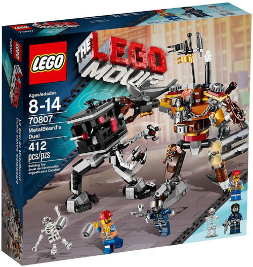 THE LEGO Movie 70807 : Metal Beard's Duel Set New In Box Sealed  70807