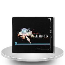 Final Fantasy XIV leather wallet black man purse Gift