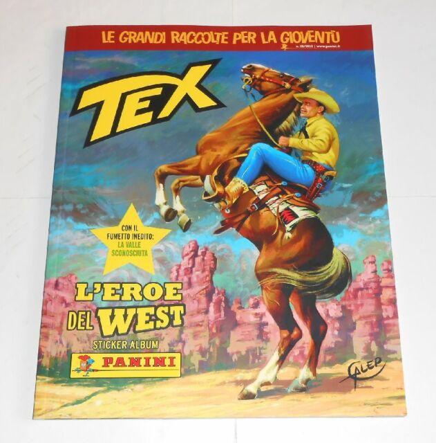 Tex L'Héroe de West Album Vacío Panini