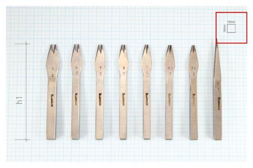 3.85mm Size#7 Vergez Blanchard Pricking Irons Leather Stitching Punch Chisel