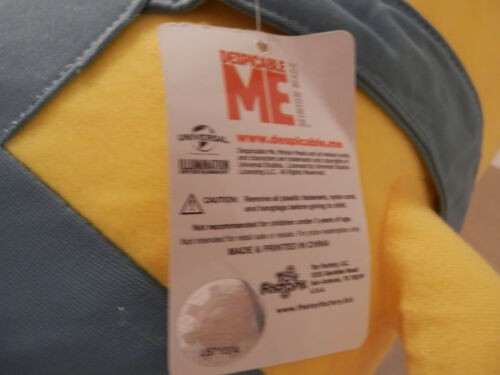 "Despicable Me Minion plush 24/"" Large 24/"" 3D 2 eyed  NEW"