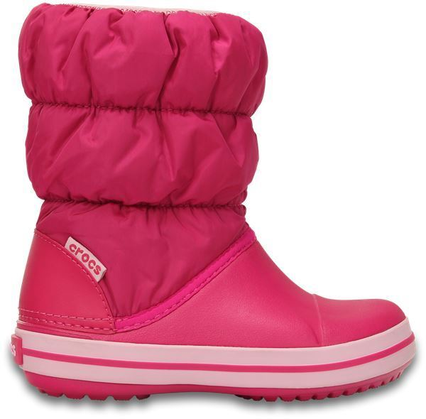 Crocs Kids Winter Puff Boot 14613 - 6x0 Candy Pink (synthetic ... 02ff9f9f99c
