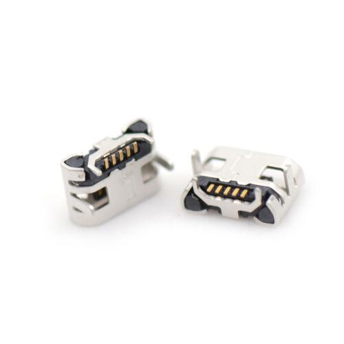 10pcs Micro USB Type B Female 5Pin DIP Socket Jack Connector Port Chargingha