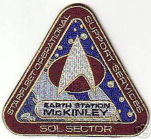 STAR TREK MCKINLEY STATION PATCH STK08