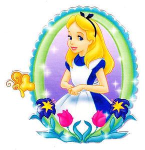 5 85 Disney Alice In Wonderland Frame Wall Safe Sticker Border