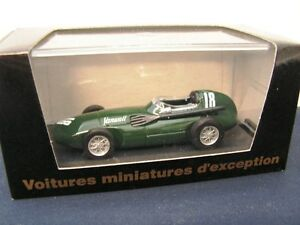 VANWALL F1 GP GREAT BRITAIN 1958 - STIRLING MOSS - BRUMM CEC 1/43 MADE IN ITALY