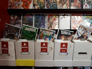 100x-NEW-B-amp-B-MODERN-MARVEL-COMICS-LOT-2014-to-Present-Rare-Incentive