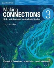 MAKING CONNECTIONS LEVEL 3 STUDENT'S BOOK 3RD EDITION by Kenneth J. Pakenham (2013, Paperback, Revised)