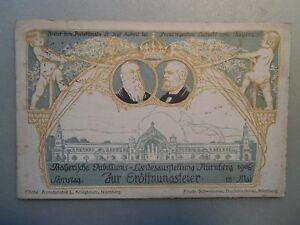 Ansichtskarte-Nuernberg-1906-Bayerische-Jubil-Landesausstellung-Eroeffnungsfeier