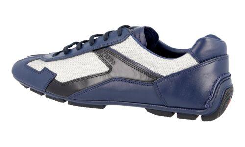 4e2791 Argent Chaussures Bleu Nouveaux 5 6 Luxueux 40 Prada 40 qRAwwUIxEW
