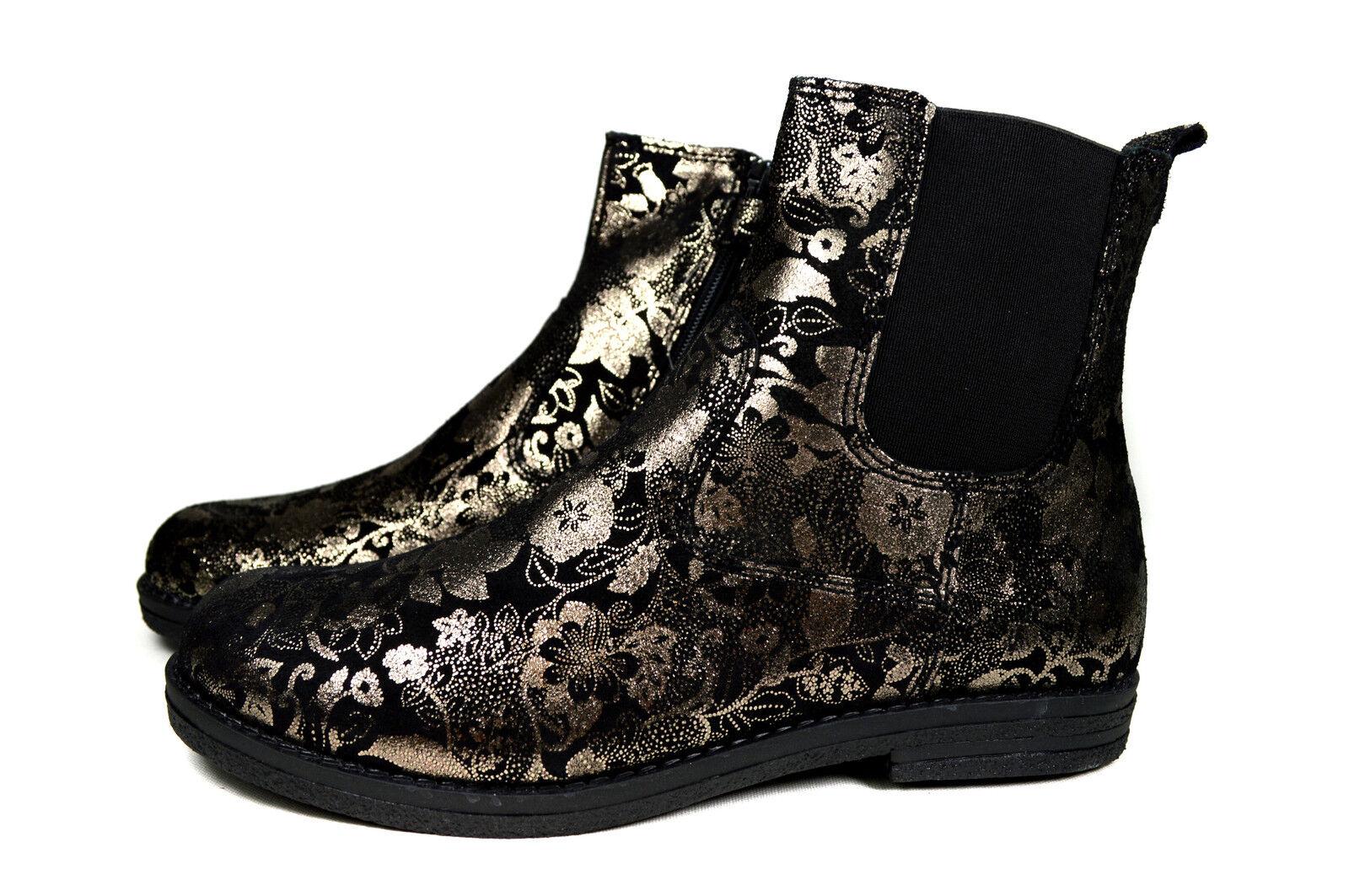 Juez niños cuero zapato botines chelsea cálido botas a.3942.833