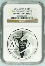 2012 COOK ISLAND S$1 THE GOLD CUP ASCOT NGC PF69 ULTRA CAMEO