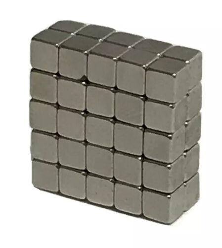 N50 Super Strong Magnetic Cube 50 Pcs 3.9mm Fun Fidget Toy Excellent Cond