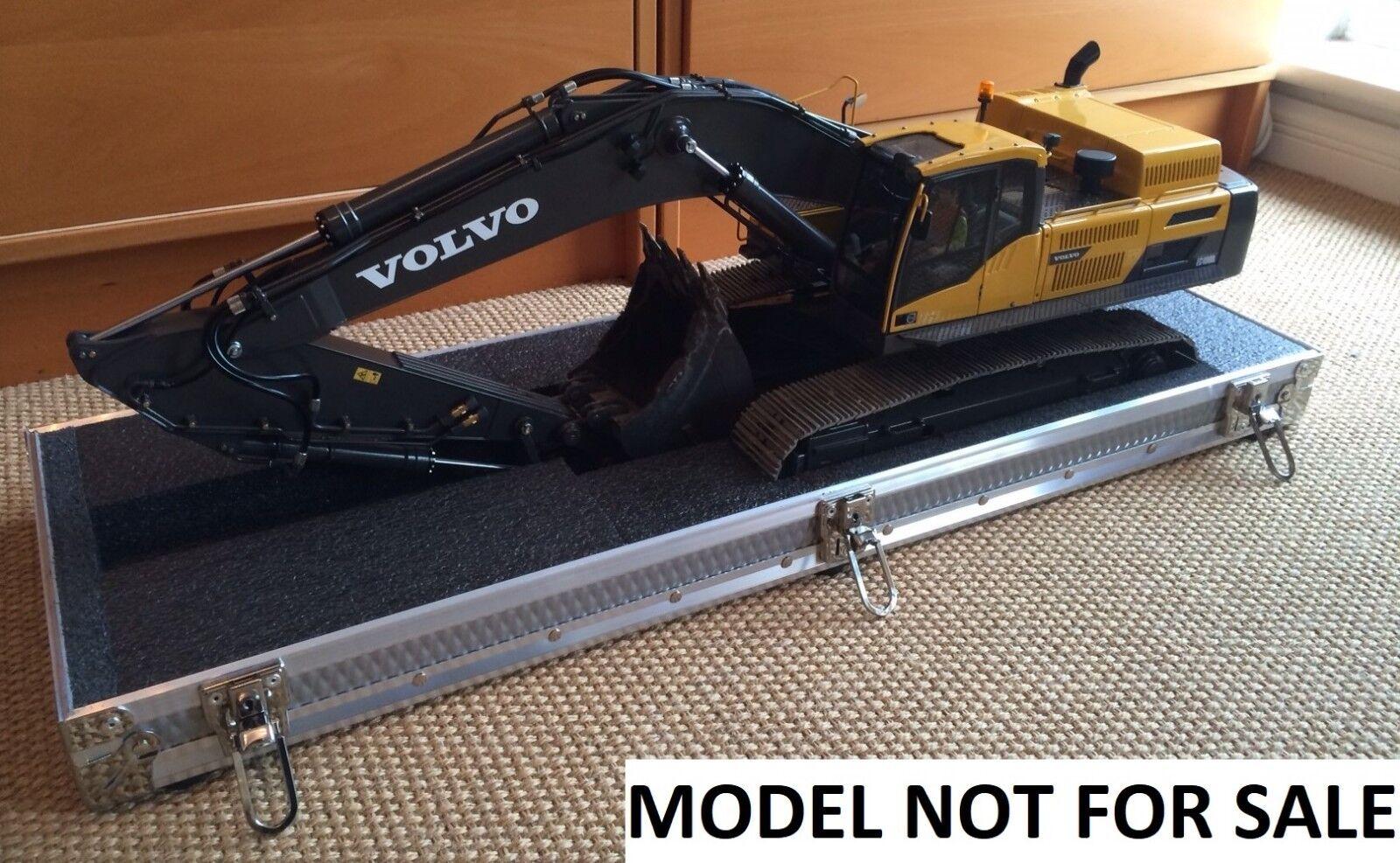 Premacom, Wedico, Damitz, RC4WD, Suitcase for RC hydraulic excavator