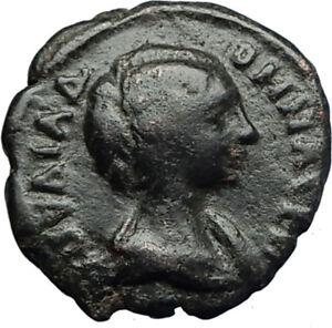 JULIA-DOMNA-Authentic-Ancient-Nicopolis-ad-Istrum-Roman-Coin-w-HOMONOIA-i71215
