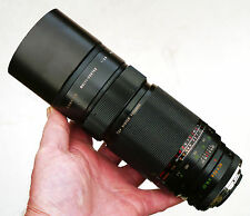 RARE Vintage Sigma XQ 200mm f2.8 MF obiettivo CY Mount in buonissima condizione pulita ottica Canon Nikon