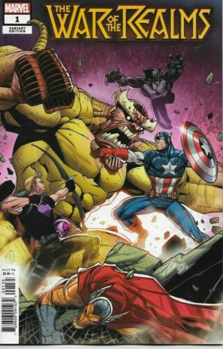ASSORTED VARIANT CHOICE Avengers 2019 NM NM 1st PRINT WAR OF THE REALMS 1