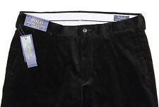 Men's POLO RALPH LAUREN Black Corduroy Pants 34x34 34 NWT NEW -8008