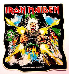 Adesivo-Vintage-Anni-90s-Iron-Maiden-1990