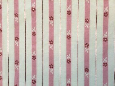 brightly colored stripes 5262 1 yd 1950/'s cotton fabric