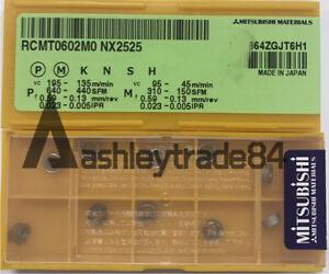 5pc RCMT0602M0 NX2525 High quality ceramics inserts carbide inserts RCMT0602M0