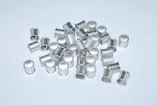 10pcs Silver aluminum pigeon rings, leg bands for pigeons US Seller