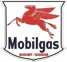 Vintage Mobil Gas Oil Pegasus socony vacuum Right BEST
