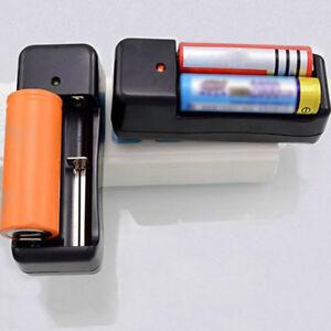 Universal Dual Battery Ladegeräte Für 18650 16340 26650 Rechargeable 3.7V Li-ion