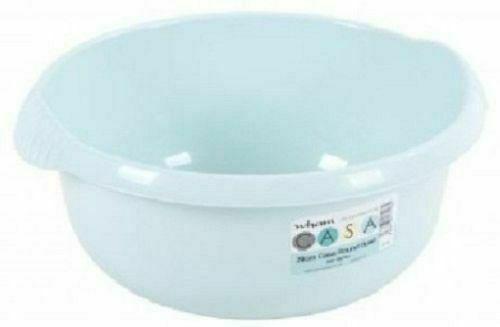 Wham Plastic Round Shape Colorful Washing Up Bowl Kitchen Basin Sink 28,32,36cm