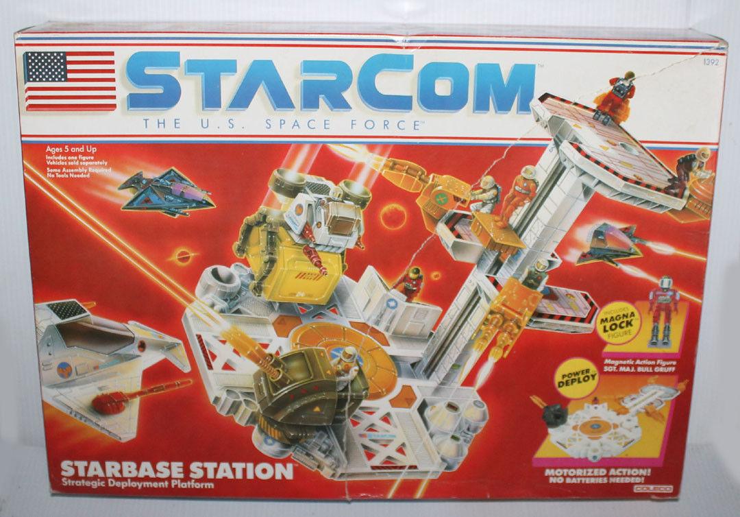 1987 coleco Estrellacom Estrellacom Jugaret Estrellabase Station Box