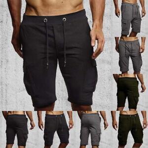 Men-Summer-Casual-Shorts-Athletic-Gym-Sports-Training-Swimwear-Short-Pants-US