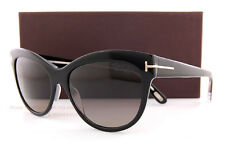 6ce8ddbedc Free shipping. Brand New Tom Ford Sunglasses FT 430 Lily Color 05D  Black Grey Polarized Women