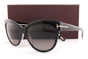 e63fa519a9 Brand New Tom Ford Sunglasses FT 430 Lily Color 05D Black Grey ...
