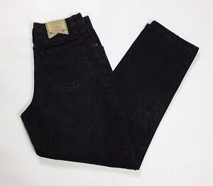 Avers jeans uomo neri vintage W33 tg 47 usato slim carota boyfriend slim T2448