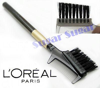 L'Oreal Paris Artiste Brow/Lash Brush 100% Natural Fibre - New