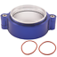 HD-Clamp-V-band-Flange-Assembly-Fits-3-034-INCH-76mm-Turbo-Dump-Pipe-Blue thumbnail 2