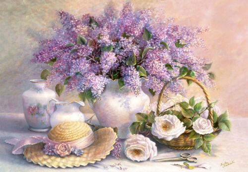 Flower Day,Trisha Hardwick,Puzzle 1000 Teile Castorland C-102006-2 Neu