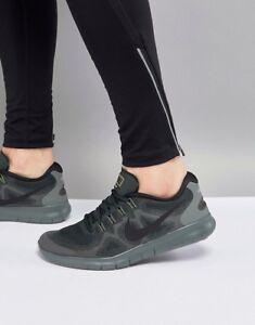 791192738a0d Nike Free RN 2017 Men s Running Shoes - Green   Black 880839 301