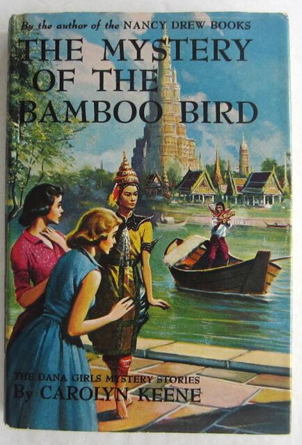 Dana Girls #22 Mystery of the Bamboo Bird Nancy Drew Author Keene Dust Jacket