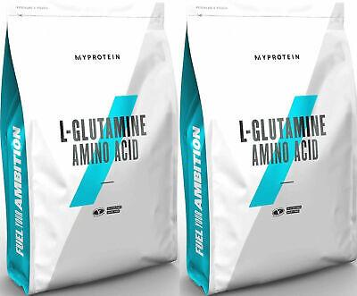 2 X 1kg Myprotein L Glutamin Pulver L-glutamin Glutamine My Protein Berry Blast