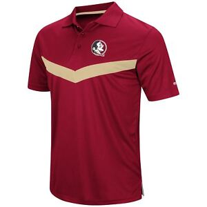 cheaper c4e8b 8b214 Image is loading Florida-State-Seminoles-Men-039-s-Fastball-Polo-