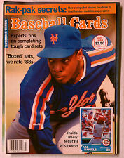 NEW YORK METS DWIGHT DOC GOODEN BASEBALL CARDS JULY 1988 MINT PRICE GUIDE