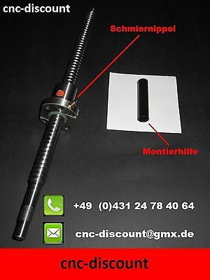 Kugelumlaufspindel  1605 x  270mm Spindel Linear ball screw CNC Fräse 3D Drucker