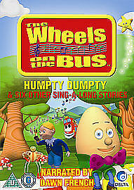 1 of 1 - Wheels On The Bus - Humpty Dumpty And Six Other Sing-A-Long Stories (DVD, 2010)